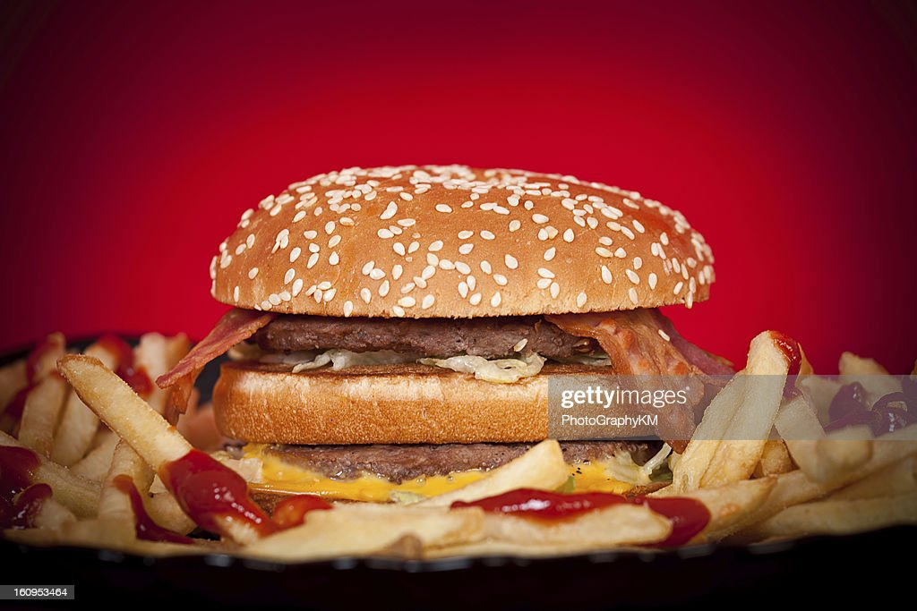 Fast Food Concept : Stock Photo