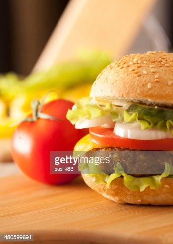 hamburger : Stock Photo