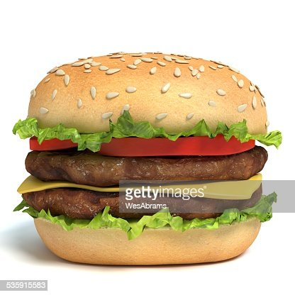 Hamburger : Stock Photo