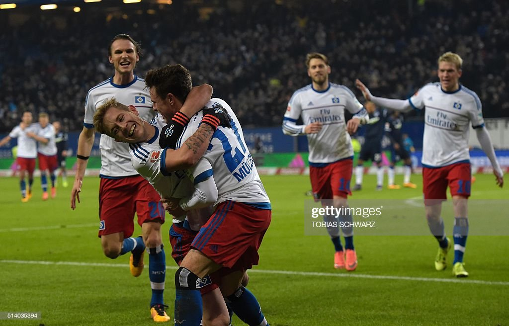 hamburger sv v hertha bsc bundesliga getty images. Black Bedroom Furniture Sets. Home Design Ideas
