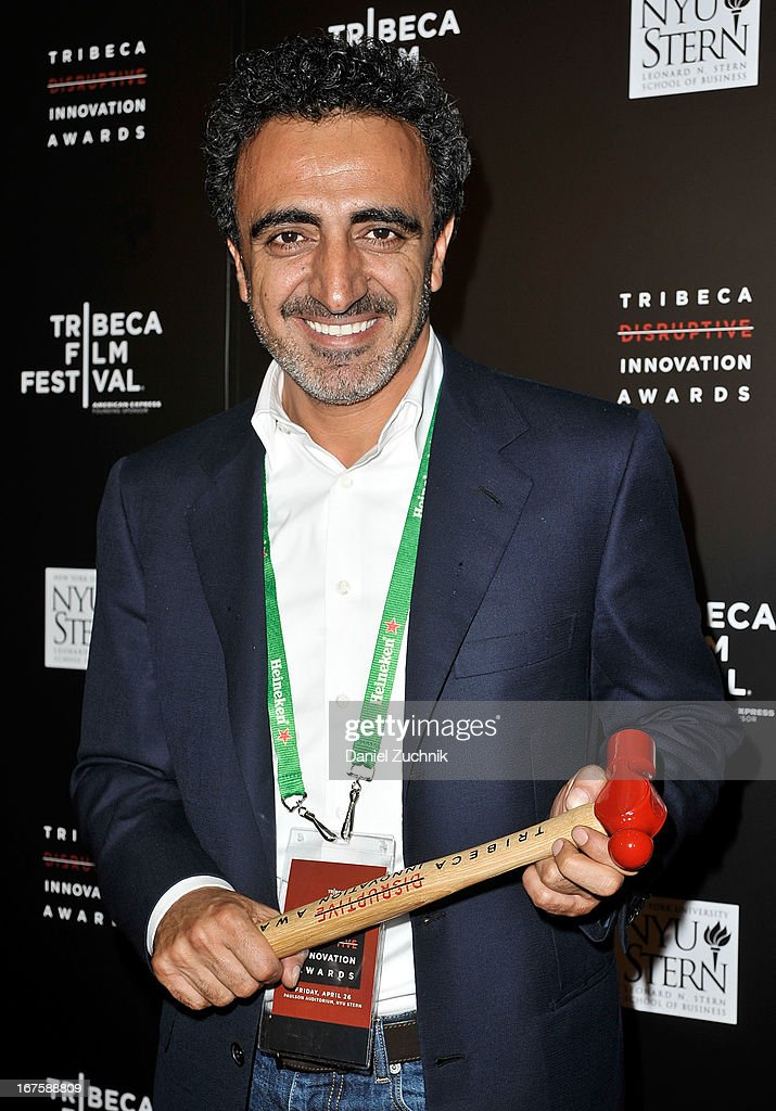 Hamdi Ulukaya attends the 4th annual Tribeca Disruptive Innovation Awards during the 2013 Tribeca Film Festival at NYU Paulson Auditorium on April 26, 2013 in New York City.