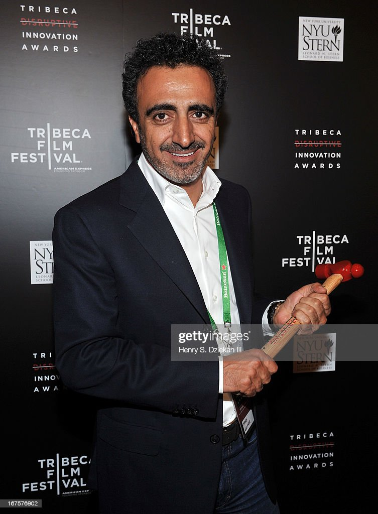 Hamdi Ulukaya attends the Tribeca Disruptive Innovation Awards during the 2013 Tribeca Film Festival at NYU Paulson Auditorium on April 26, 2013 in New York City.