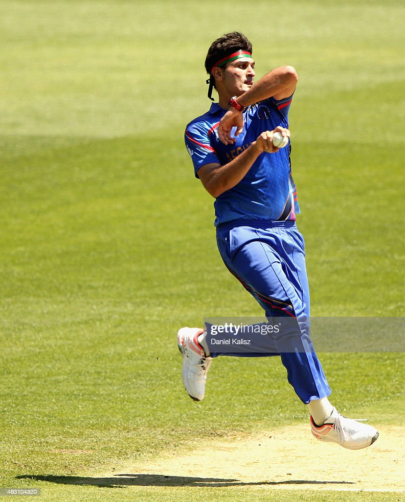 India v Afghanistan - ICC CWC Warm Up Match