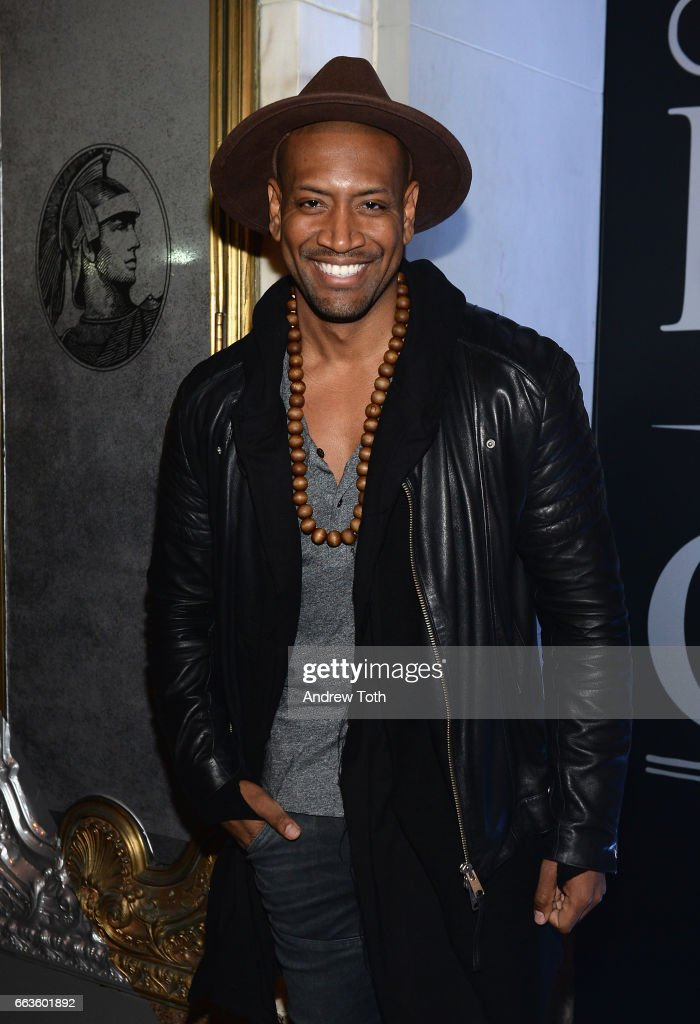 Hamilton Cast Member Bryan Terrell Clark attends the American Express Celebrates The New Platinum Card With Hamilton Takeover Experience on April 1, 2017 in New York City.