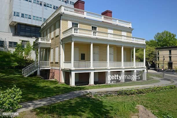 Hamilton Grange in St. Nicholas Park in New York