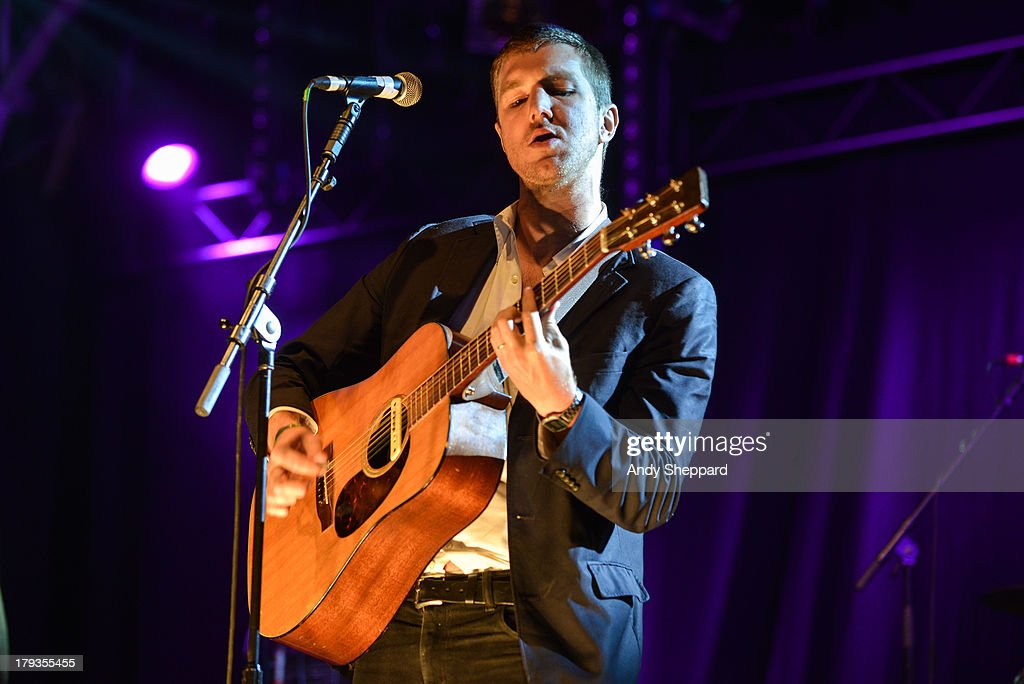 Hamilton Leithauser of the band The Walkmen performs on stage on Day 3 of End Of The Road Festival 2013 at Larmer Tree Gardens on September 1, 2013 in Salisbury, England.