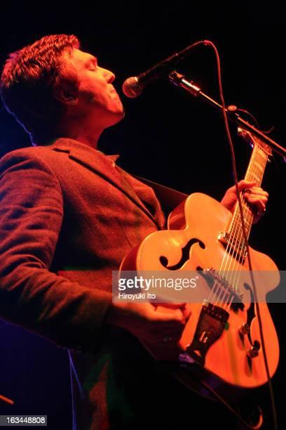 Hamilton Leithauser of The Walkmen performing at Roseland on Thursday night April 12 2007