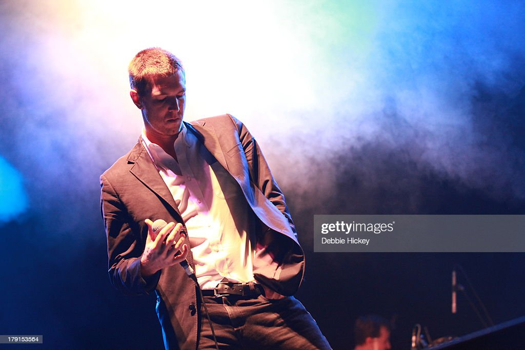 Hamilton Leithauser of The Walkmen performs at Day 2 of Electric Picnic at Stradbally Hall Estate on August 31, 2013 in Dublin, Ireland.