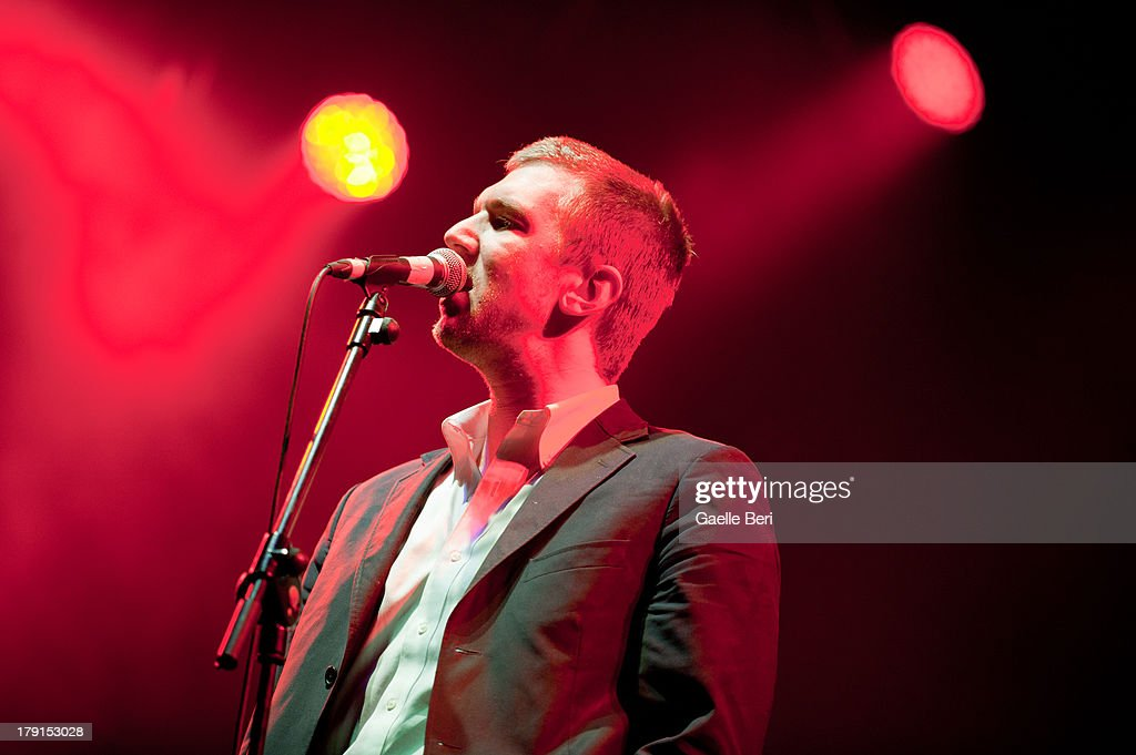 Hamilton Leithauser of The Walkmen performs on stage on Day 2 of Electric Picnic Festival 2013 at Stradbally Hall Estate on August 31, 2013 in Dublin, Ireland.