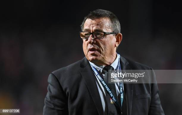 Hamilton New Zealand 20 June 2017 Chiefs assistant coach Kieran Keane during the match between the Chiefs and the British Irish Lions at FMG Stadium...