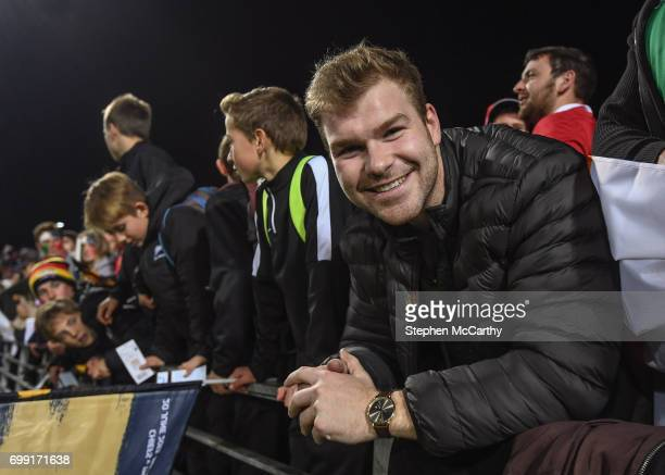 Hamilton New Zealand 20 June 2017 Jack Dineen following the match between the Chiefs and the British Irish Lions at FMG Stadium in Hamilton New...