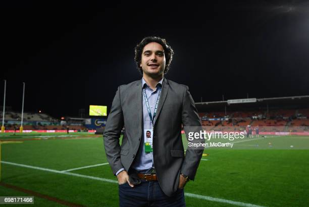 Hamilton New Zealand 20 June 2017 James Lowe of the Chiefs poses for a portrait prior to the match between the Chiefs and the British Irish Lions at...