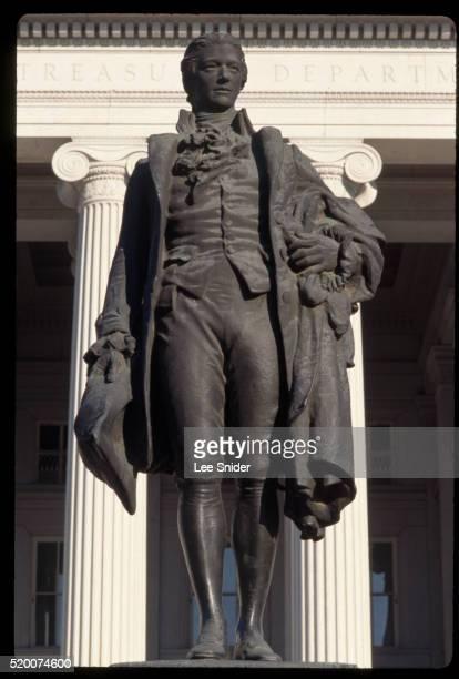 Hamilton Statue at Treasury Building