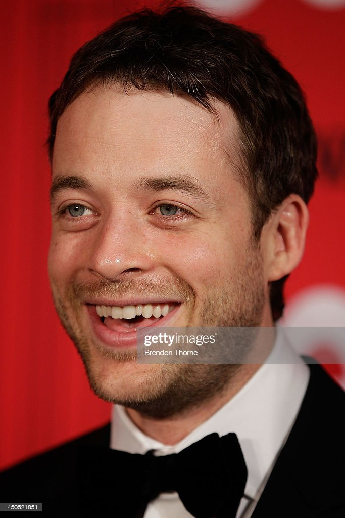 Hamish Blake arrives at the GQ Men of the Year awards at the Ivy Ballroom on November 19, 2013 in Sydney, Australia.