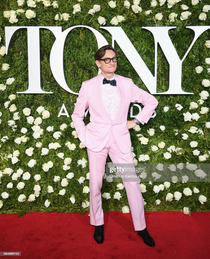 Hamish Bowles attends the 2017 Tony Awards at Radio City Music Hall on June 11, 2017 in New York City.