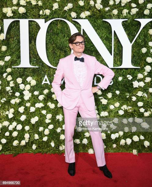 Hamish Bowles attends the 2017 Tony Awards at Radio City Music Hall on June 11 2017 in New York City