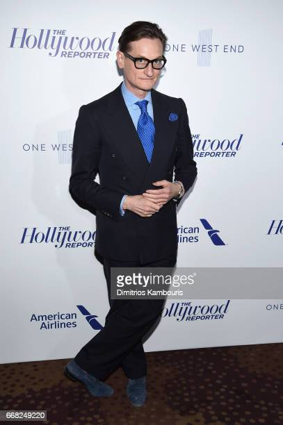 Hamish Bowles attends The Hollywood Reporter 35 Most Powerful People In Media 2017 at The Pool on April 13 2017 in New York City