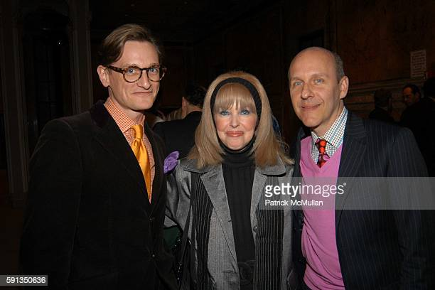 Hamish Bowles Joycie and Gene Meyer attend Vanity Fair Editor Graydon Carter and SAKS Chairman and CEO Fred Wilson host a private screening of...