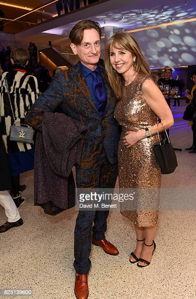 Hamish BowlesSarah Miller attend the launch of the new Design Museum cohosted by Alexandra Shulman Sir Terence Conran Deyan Sudjic on November 22...