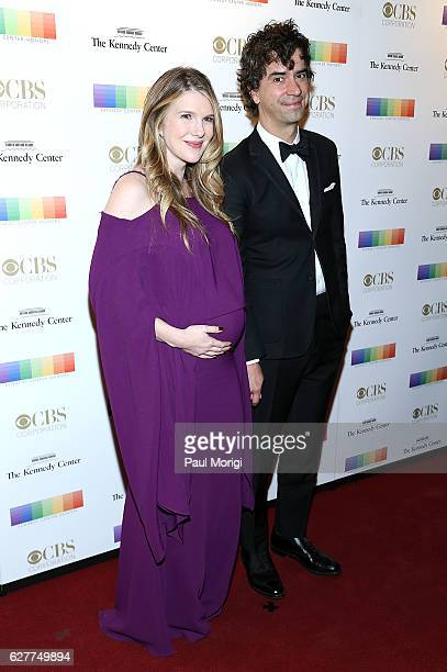 Hamish Eric Linklater and Lily Rabe arrive at the 39th Annual Kennedy Center Honors at The Kennedy Center on December 4 2016 in Washington DC