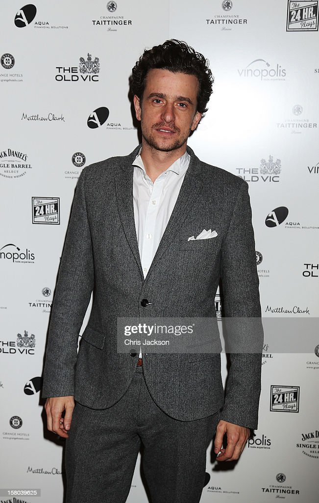 Hamish Jenkinson attends the post-show party, The 25th Hour, following The Old Vic's 24 Hour Musicals Celebrity Gala 2012 during which guests drank Jack Daniels Single Barrel, Curtain Raiser cocktails in The Great Halls, Vinopolis, Borough on December 9, 2012 in London, England.