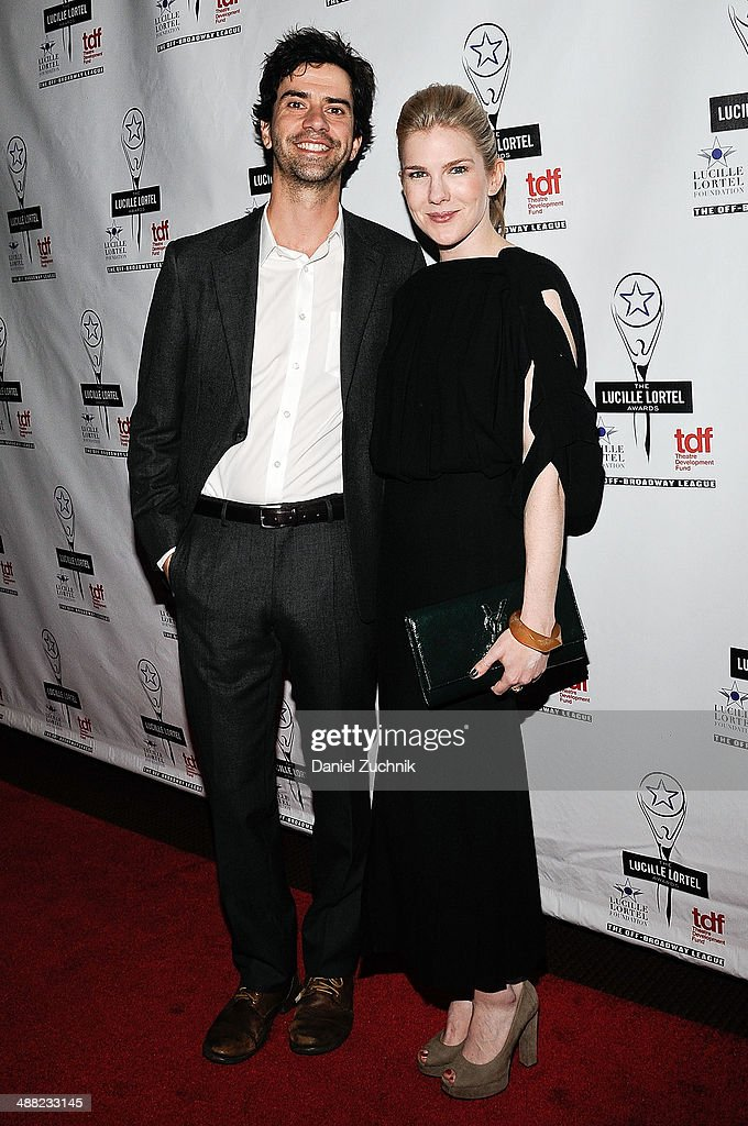 Hamish Linklater and Lily Rabe attend the 29th Annual Lucille Lortel Awards at NYU Skirball Center on May 4, 2014 in New York City.