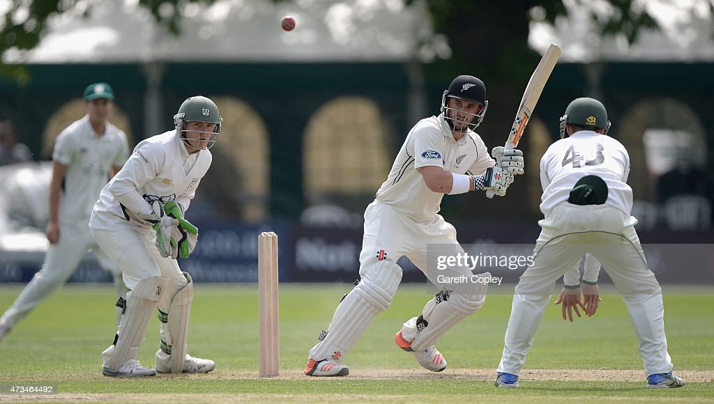Worcestershire v New Zealand - Tour Match