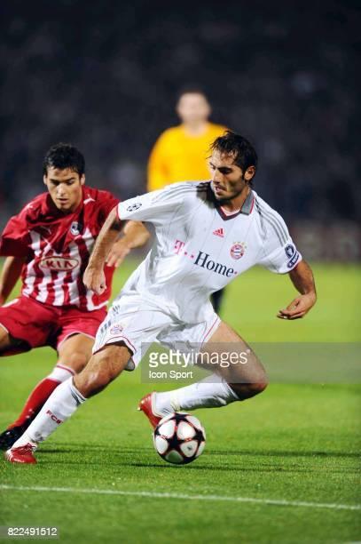 Hamit ALTINTOP Bordeaux / Bayern Munich 1er tour Champions League Stade Chaban Delmas Bordeaux