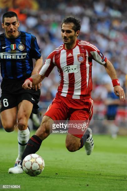 Hamit ALTINTOP Inter Milan / Bayern Munich Finale de la Champions League Madrid Espagne