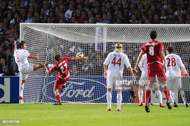 Hamit ALTINTOP / But Marc PLANUS Bordeaux / Bayern Munich 1er tour Champions League Stade Chaban Delmas Bordeaux