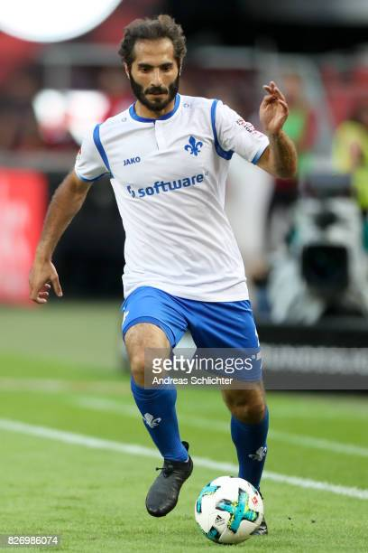 Hamit Altintop of Darmstadt during the Second Bundesliga match between 1 FC Kaiserslautern and SV Darmstadt 98 at FritzWalterStadion on August 4 2017...