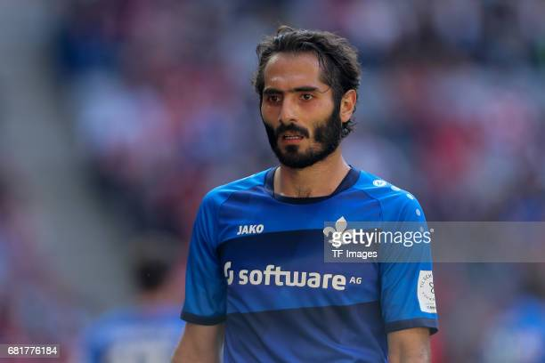 Hamit Altintop of Darmstadt looks on during the Bundesliga match between Bayern Muenchen and SV Darmstadt 98 at Allianz Arena on May 6 2017 in Munich...