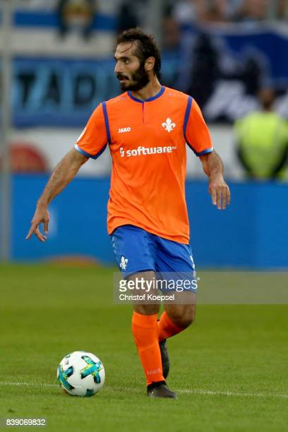 Hamit Altintop of Darmstadt runs with the ball during the Second Bundesliga match between MSV Duisburg and SV Darmstadt 98 at SchauinslandReisenArena...