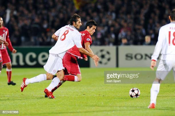 Hamit ALTINTOP / Yoann GOURCUFF Bordeaux / Bayern Munich Champions League Stade Chaban Delmas Bordeaux