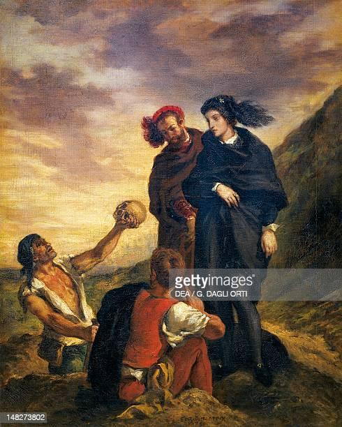 Hamlet and Horatio in the cemetery by Eugene Delacroix Paris Musée Du Louvre