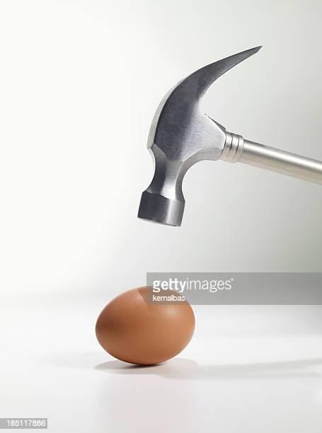 Hammer Above Egg