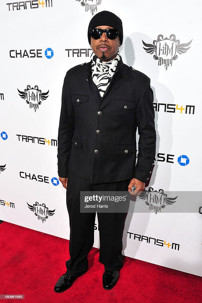 <a gi-track='captionPersonalityLinkClicked' href=/galleries/search?phrase=MC+Hammer&family=editorial&specificpeople=225081 ng-click='$event.stopPropagation()'>MC Hammer</a> arrives at will.i.am's Annual TRANS4M Concert Benefitting i.am.angel Foundation on February 7, 2013 in Hollywood, California.