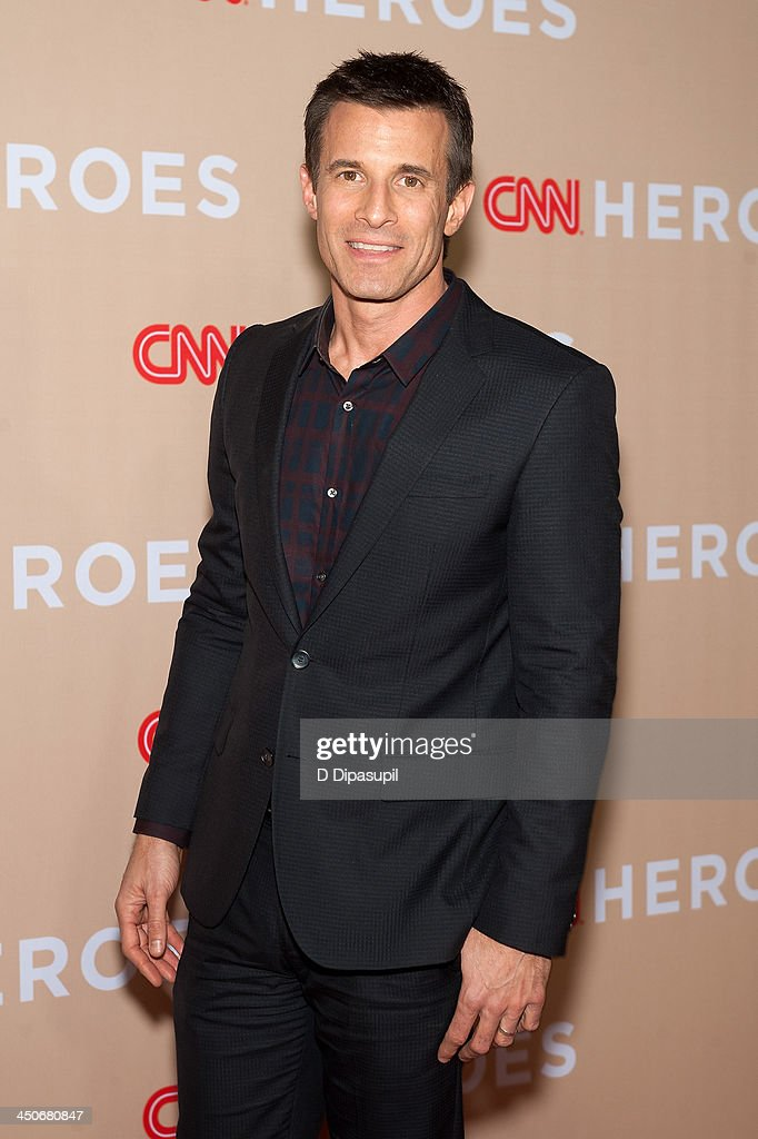 A. J. Hammer attends the 2013 CNN Heroes at the American Museum of Natural History on November 19, 2013 in New York City.