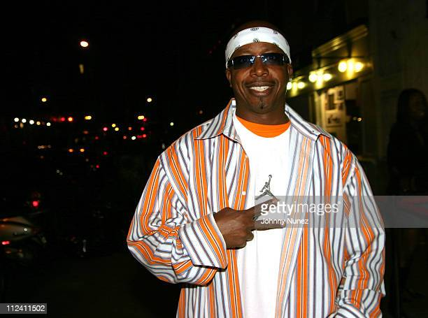 MC Hammer during Talib Kweli Birthday Party at Ten's in New York City New York United States