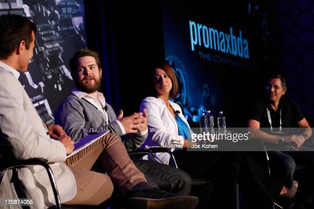 AJ Hammer host of 'Showbiz Tonight' producer Jack Osbourne Maggie Furlong West Coast Editor of Huffington Post TV and WireImage CoFounder Kevin Mazur...