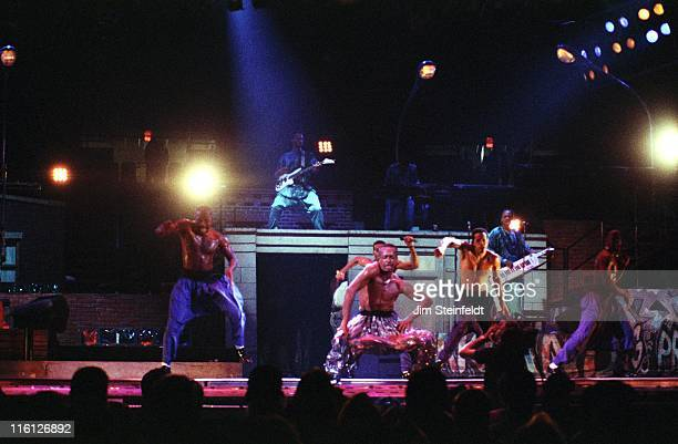 Hammer performs at the Met Center in Bloomington Minnesota on September 23 1990