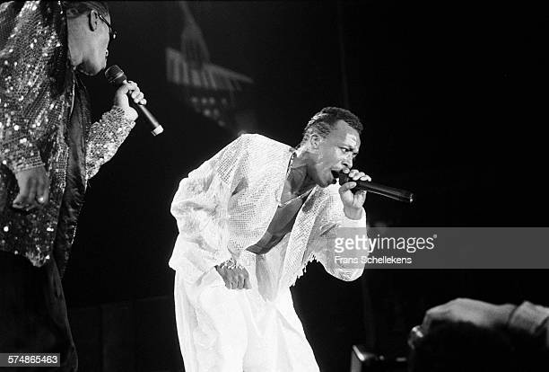 Hammer vocal performs on April 5th 1991 at Ahoy in Rotterdam the Netherlands