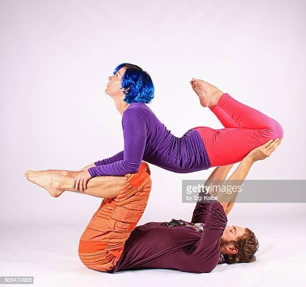 Hammock in acro yoga