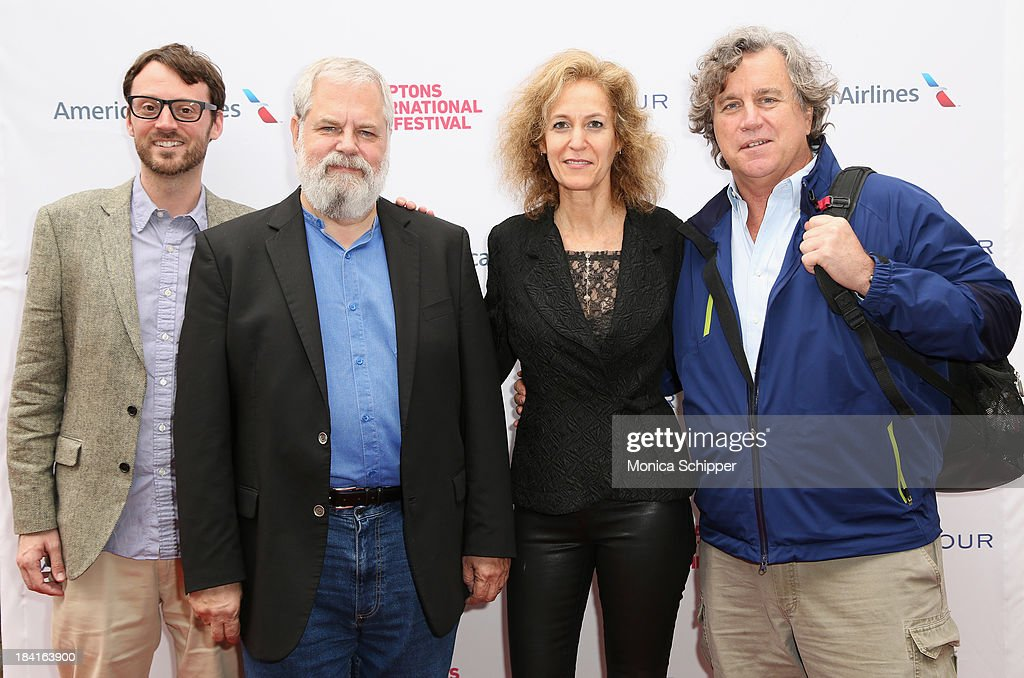 Hamptons International Film Festival Artistic Director David Nugent Tim Jenison Farley Ziegler and Sony Pictures Classics' CoPresident Tom Bernard...