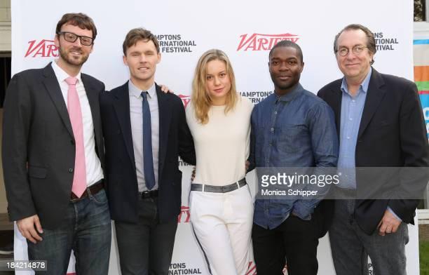 Hamptons International Film Festival Artistic Director David Nugent actors Scott Haze Brie Larson and David Oyelowo and Variety Vice President and...