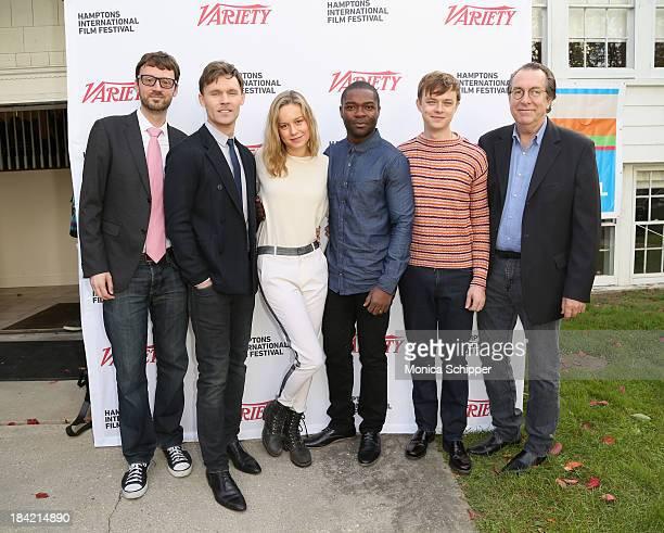Hamptons International Film Festival Artistic Director David Nugent actors Scott Haze Brie Larson David Oyelowo and Dane DeHaan and Variety Vice...