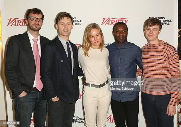Hamptons International Film Festival Artistic Director David Nugent and actors Scott Haze Brie Larson David Oyelowo and Dane DeHaan attend the 21st...