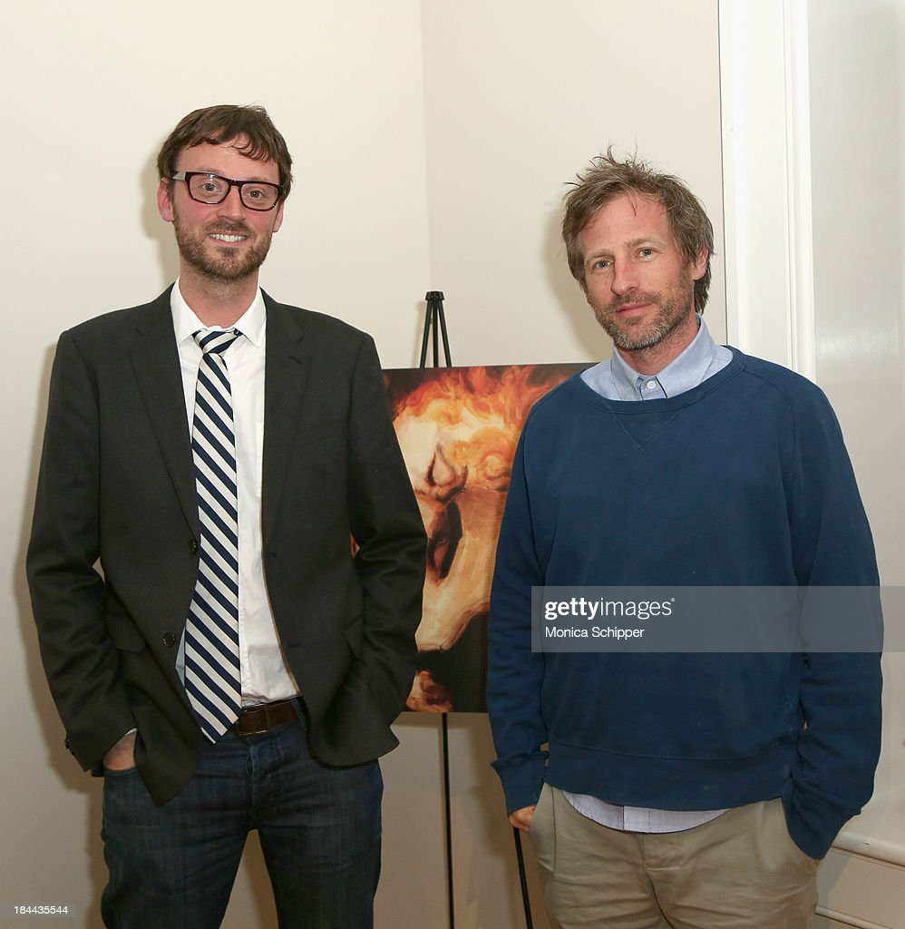 Hamptons International Film Festival Artistic Director <a gi-track='captionPersonalityLinkClicked' href=/galleries/search?phrase=David+Nugent+-+Artistic+Director&family=editorial&specificpeople=15104918 ng-click='$event.stopPropagation()'>David Nugent</a> (L) and director <a gi-track='captionPersonalityLinkClicked' href=/galleries/search?phrase=Spike+Jonze&family=editorial&specificpeople=2619298 ng-click='$event.stopPropagation()'>Spike Jonze</a> attend the 21st Annual Hamptons International Film Festival on October 13, 2013 in East Hampton, New York.