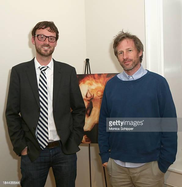 Hamptons International Film Festival Artistic Director David Nugent and director Spike Jonze attend the 21st Annual Hamptons International Film...