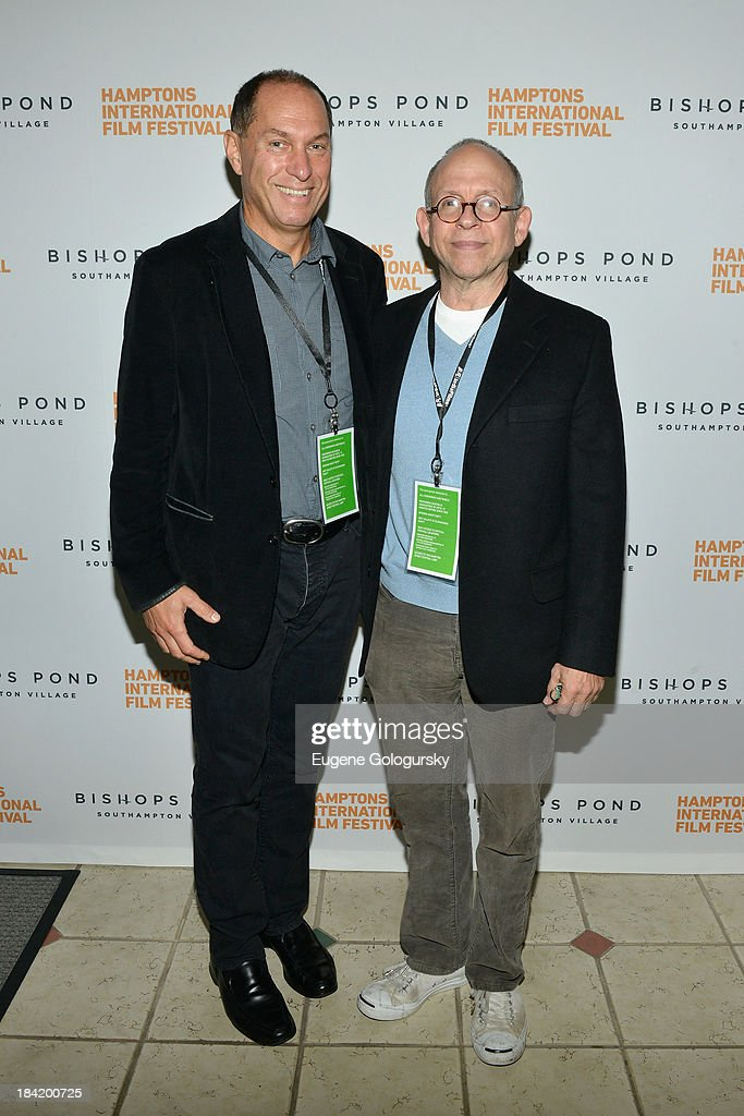 Hamptons International Film Festival Board of Directors Chairman Stuart Match Suna (L) and actor <a gi-track='captionPersonalityLinkClicked' href=/galleries/search?phrase=Bob+Balaban&family=editorial&specificpeople=220226 ng-click='$event.stopPropagation()'>Bob Balaban</a> attend the 21st Annual Hamptons International Film Festival on October 11, 2013 in East Hampton, New York.